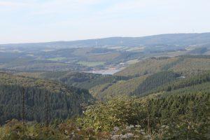 Blick vom Feldberg zum Ebbegebirge