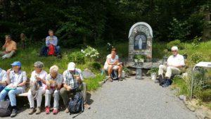 Lourdes-Grotte Rhode