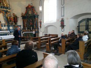 Besichtigung der Kreuzkapelle